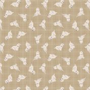 Lewis & Irene A Walk in the Glen - 4873 - West Highland Terriors on Beige Check - A159.1 - Cotton Fabric